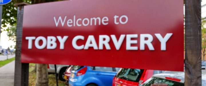 Turkey & Beef @ Toby Carvery, Reading 28/09/2014